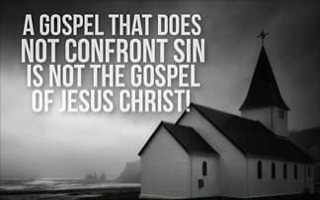 Brother Stair's Gospel does not Confront Sin
