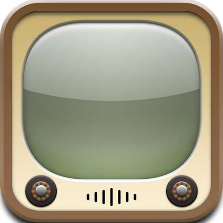 YouTube's old TV icon