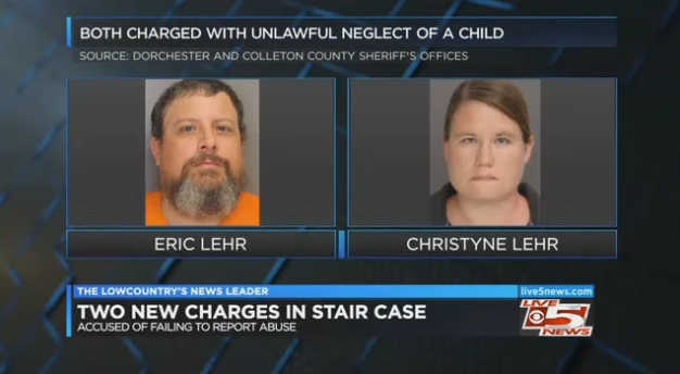 Two news charges in Bro Stair Case