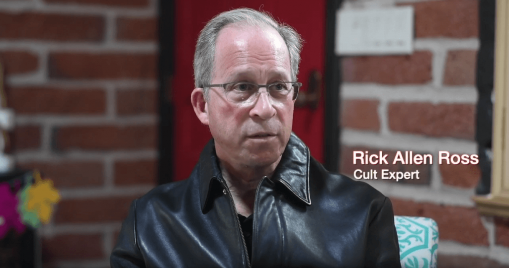 When God Comes Documentary - Rick Alan Ross Cult Expert on Bro RG Stair