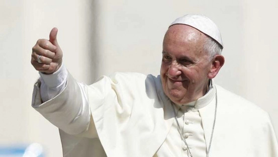 Pope Francis Coming to Overcomer Ministry (source standardmedia.co.ke)