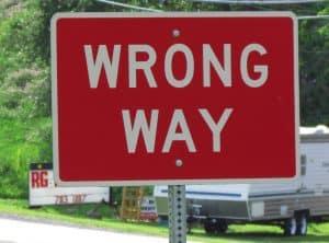 Wrong Way RG