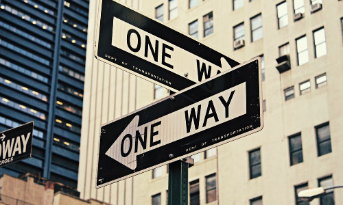 One Way, Both Ways, Confusion