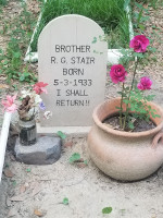The Passing-Over of Brother R. G. Stair