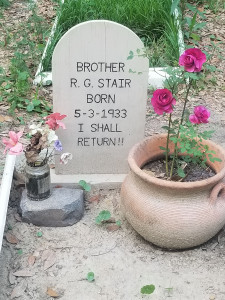 Brother Stair Grave Marker Tombstone Inscription