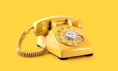 Telephone yellow