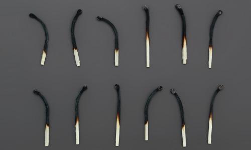 12 Burnt Matches